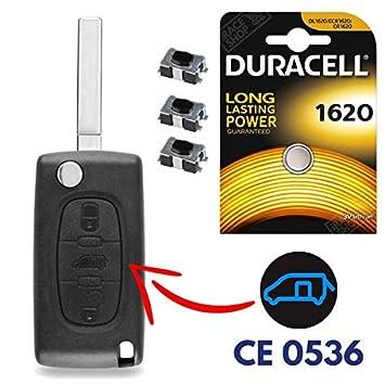 iRace Keys® - Carcasa para Mando a Distancia para Peugeot ...