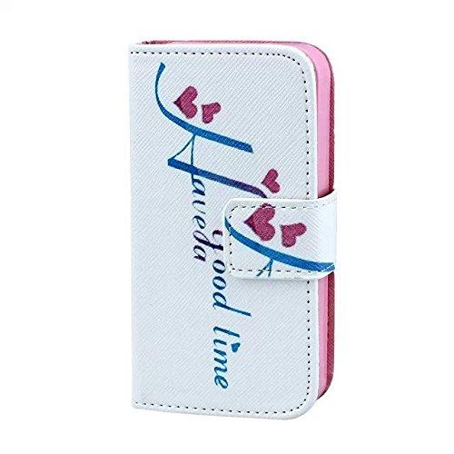 IPhone 4 4S Housse en Cuir Wallet Flip Case -Yaobai Protecteur Wallet Shell Housse Coque Etui avec TPU Soft Skin Case Cover avec des fentes de carte de credit Pour Apple iphone 4 4S