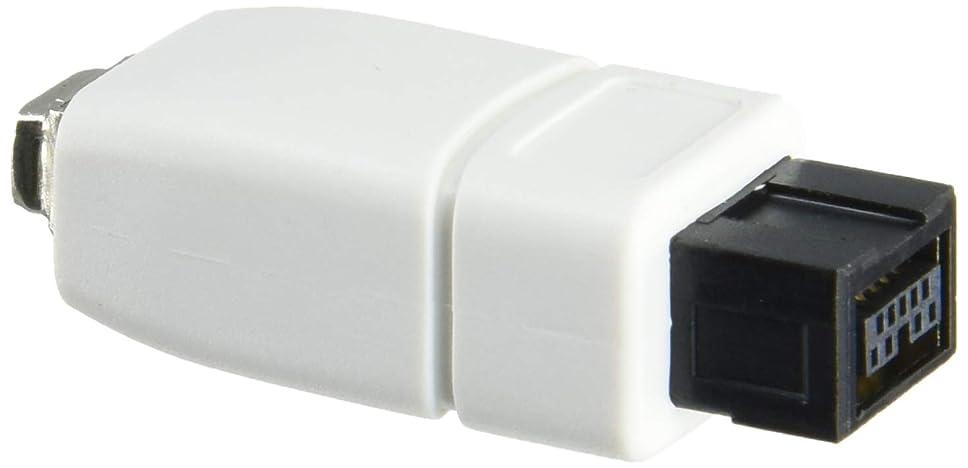 老朽化したコア首尾一貫したミッキー型コネクタ 3ピン ACケーブル 22cm 超短仕様 (ACアダプタ用ショートケーブル)