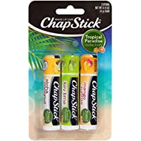 3 Count Chapstick Tropical Paradise Collection Lip Care 0.15 Ounce