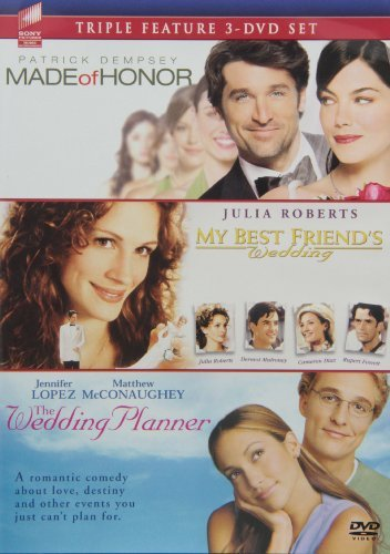 Made of Honor / My Best Friend's Wedding / The Wedding Planner Triple Feature 3-DVD Set