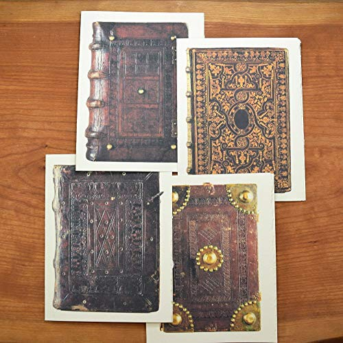 Old Books Note Cards, Set of 12 Cards and Envelopes