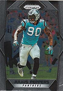 2017 Panini Prizm #103 Julius Peppers Carolina Panthers Football Card