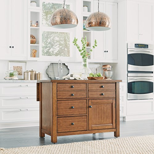 Maple Kitchen Island Kitchen (Home Styles 5412-94 Tahoe Kitchen Island)