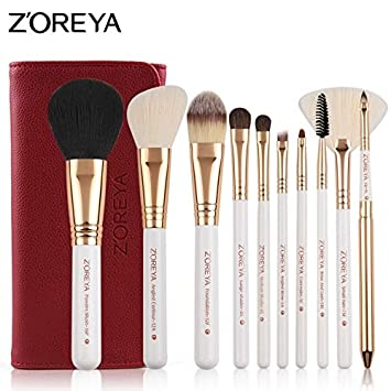 9ef88ce26331 Amazon.com: Best Quality - Makeup Brushes - 10pcs Makeup Brushes Set ...