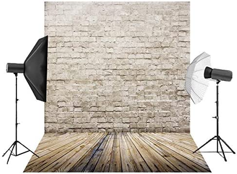FIRSTLIKE 5x7ft wooden wall floor studio pillar photography cloth background photo background