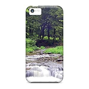 linJUN FENGChrisHuisman Scratch-free Phone Cases For iphone 6 4.7 inch- Retail Packaging - Bridge Over Mountain Stream