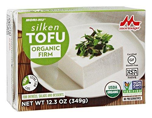 Mori Nu Morinu Organic Silken Tofu, Firm, 12.3 Ounce (2% ...