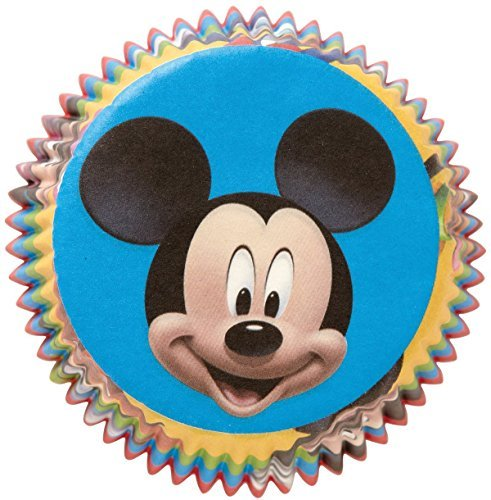 Wilton Disney Mickey Mouse Licensed Baking Cups, Pack of 50