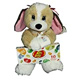 Get Well Gift Set For Kids - 2 Piece Plush Dog Melancholy Melanie and Jelly Belly Gift Box