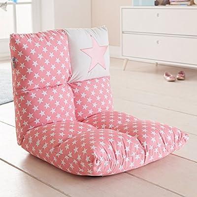 howa ® 2 in 1 Kinderstoel en -bank roze - Roze/lichtroze ...