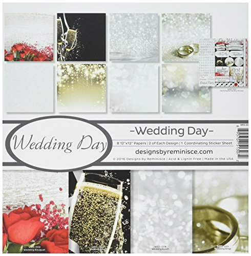 Reminisce WED-200 Wedding Day Collection Kit, 12