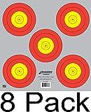 Archery 5 SPOT & 3 SPOT Vegas Targets by Longbow 8, 20, 50 & 200 Packs (5 Spot (8 Pack))