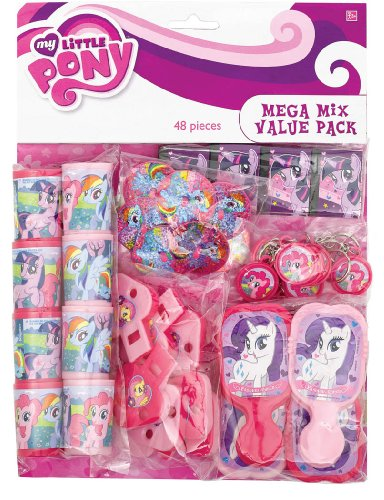 amscan My Little Pony 'Friendship is Magic' 48pc Favor Kit -