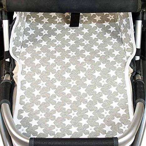 Fun Vintage Star Fundas BCN /® Cushion Seat Liner for Uppababy Vista /® and Uppababy Cruz /® Pushchair//Stroller F128