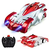 zero gravity remote control car - GuangTouL RC Wall Climbing Car,Electric toys RC Vehicle,Wall Climbing Car and Ordinary Car Dual Mode 360 ° Rotation With LED Lights Stunt Remote Control Cars for Boy and Girl Gifts