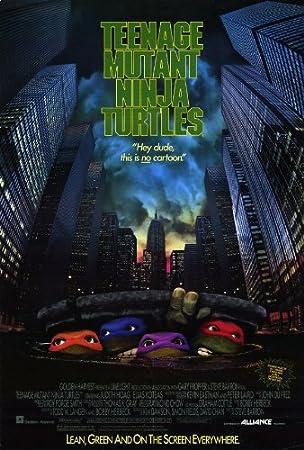 Amazon.com: 27 x 40 Póster de la película Teenage Mutant ...