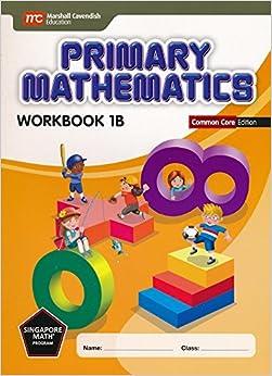 Book Primary Mathematics Workbook 1B Common Core Edition