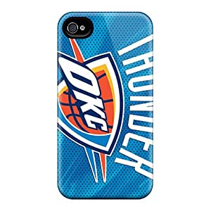 RBCantu TcP651TOaf Case Cover Skin For Iphone 4/4s (oklahoma City Thunder)