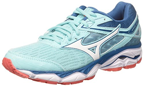 Femme Pour 20 9 Wave De Bluesapphire aquasplash White Chaussures Wos Multicolore Mizuno Course Ultima 0gR8WRqw