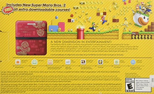 Nintendo 3DS XL Super Mario Bros 2 Limited Edition by Nintendo (Image #3)
