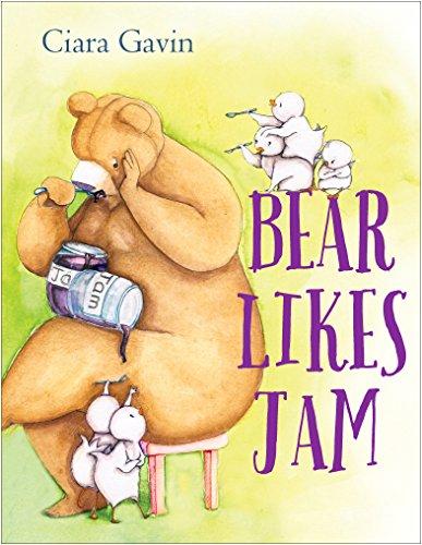 Bear Likes Jam by [Gavin, Ciara]