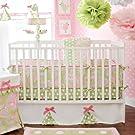 My Baby Sam 2 Piece Pixie Baby in Pink Crib Bumper
