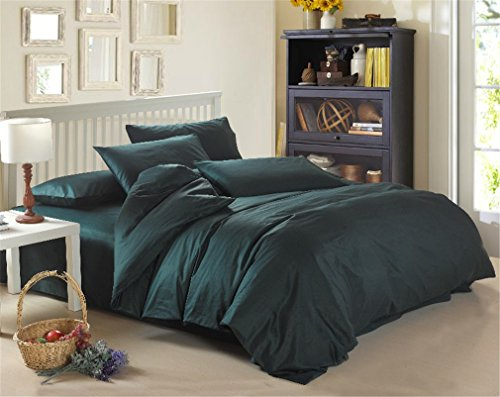 365 Fashion Home 100% Cotton Army Green 4-piece Bedding Sets