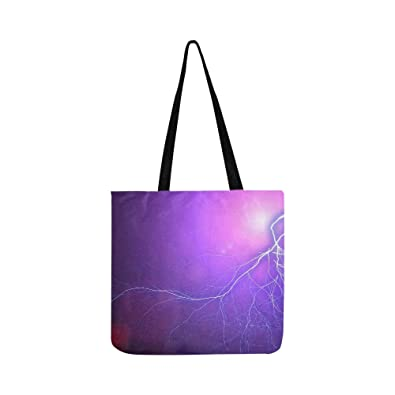 e7e5270a41360 Amazon.com: Flash Thunderstorm Thunder Electricity Discharge Canvas ...