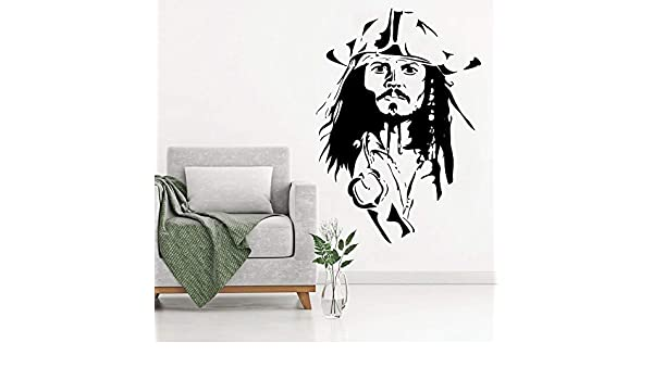 jiushizq Sparrow Head Cool Wall Decal Poster Vinyl Wall Mural ...