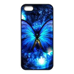 ZHANG iPhone 5S Cases White and Black Heat Case Butterfly Case Apple iPhone 5 & 5S Case