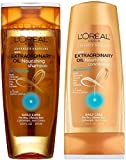 L 'Oreal Paris Shampoo and Conditioner Set, 12.6 Oz Extraordinary Oil