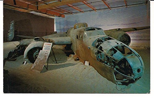 the-b-25-mitchell-bomber-from-sole-survivor-vintage-post-card