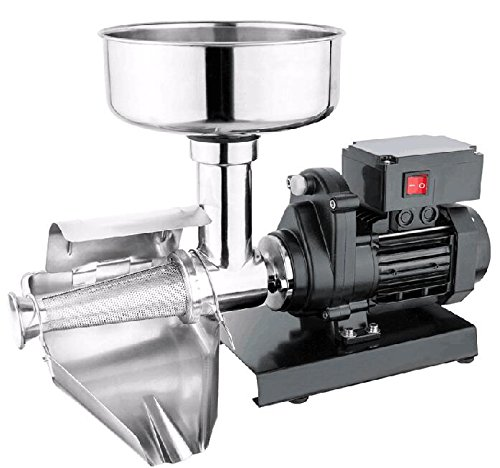 WYZworks Commercial Grade Electric Tomato Strainer Mill Press Machine