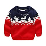 Product review for MOMOLAND Toddler Boys Christmas Sweaters Reindeer Xmas Gift Clothes