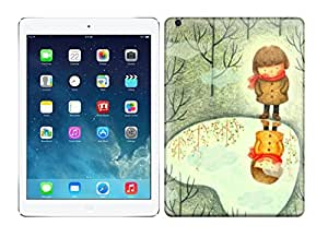 Best Power(TM) Hard Back Cover Skin Cases for ipad air, Unique Design of shadow Plastic Case, SnapOn, Protector