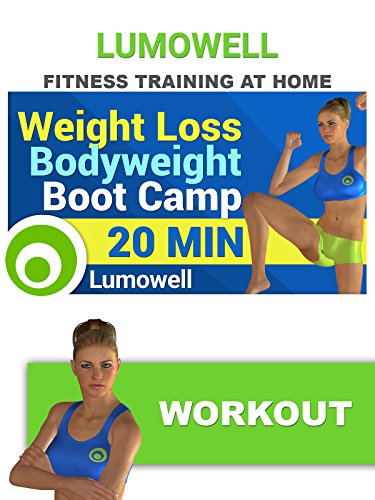 Fitness Training At Home  Weight Loss Bodyweight Boot Camp Workout