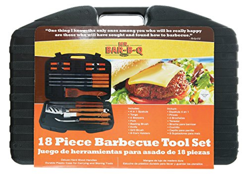 Mr Bar B Q 94001X 18 Piece Stainless Steel