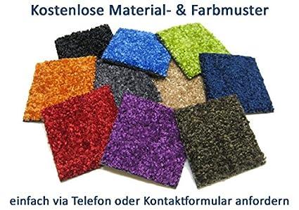 rund Schmutzfangmatte Deko-Matten-Shop Fu/ßmatte Classic in 9 Gr/ö/ßen und 11 Farben 90 cm Durchmesser dunkelrot