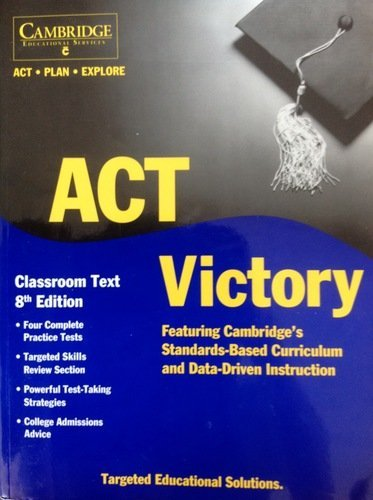 Act. Plan. Explore Victory Classroom Text