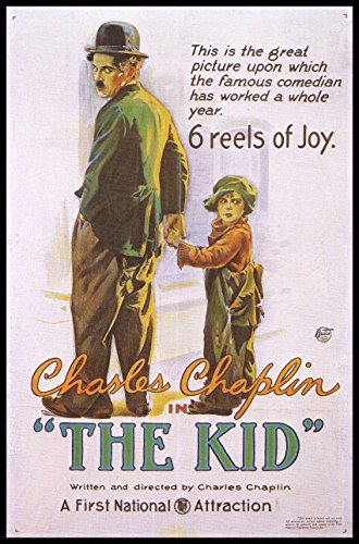 The Kid Fridge Magnet Charlie Chaplin 2.5 x 3.5 Magnetic Movie Poster