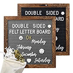 Mesha Upgrade Double Sided Felt Letter B...