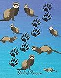 Student Planner: School Planner 2019-2020 Ferrets
