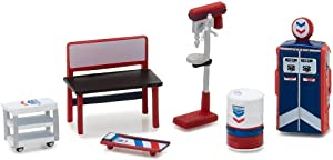 Greenlight Muscle 6pc Set Shop Tools Standard Oil 1/64 by Greenlight 13157
