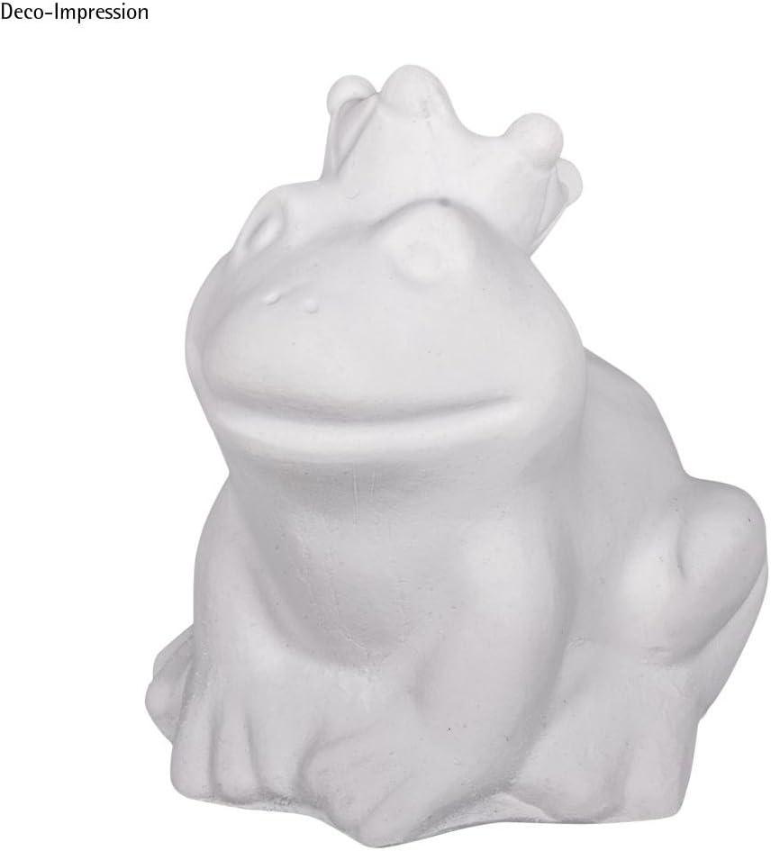 Froschkönig 9x8,5cm Latex Vollform-Gießform 1Stück
