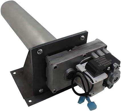 Motorreductor estufa pellets 220v 3.2rpm motor alimentaci/ón pellets motor tornillo sinfin para carga de pellets