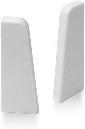 Sockelleisten Set bestehend aus ✓Muster MDF Sockelleiste MDF ✓Sockelleisten Clip ✓Innenecke f/ür Sockelleiste wei/ß KGM Sockelleiste weiss MEGA Musterset weisse Fussleisten 58mm