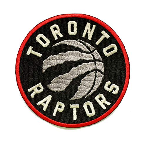 - Raptors Basketball Fully Embroidered Iron On Patch 3.5