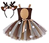 Tutu Dreams Baby Girls Deer Costume (Deer, S)