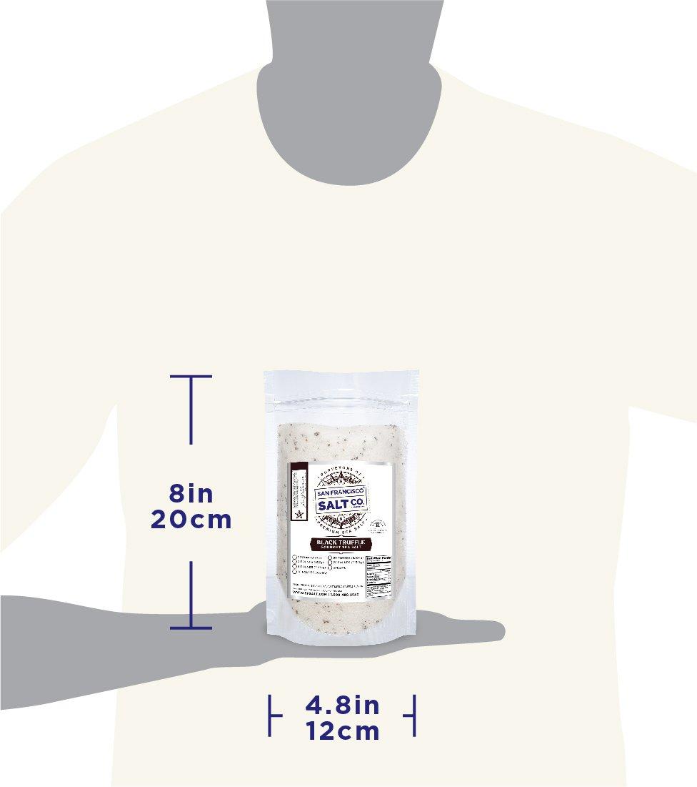 1 lb. Bulk Bag - Authentic Italian Black Truffle Salt by San Francisco Salt Company (Image #8)
